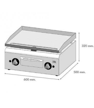PLANCHA 600 A GAS RECTIFICADA  PLC 600 RT