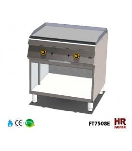 FRYTOP A GAS 800 SERIE 750 CON SOPORTE FT7508E
