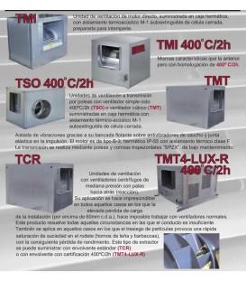 CAJA TSO 400º/2H 1 CV