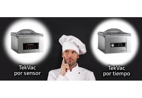 Envasadoras  ¿Cuál es la tuya, por tiempo o por sensor?